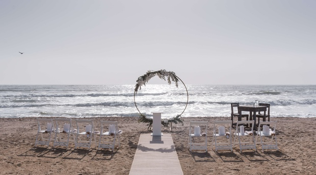 beach wedding swakopmund villa maji